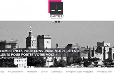 Les deux avocats gautier vous présentent leur nouveau site internet en ligne